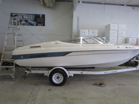 Sunbird Boat Bimini Top by For Sale Used 1994 Sunbird Corsair 200 In Traverse City