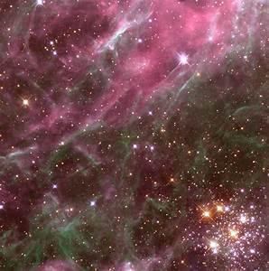 Pink Star Nebula - Pics about space