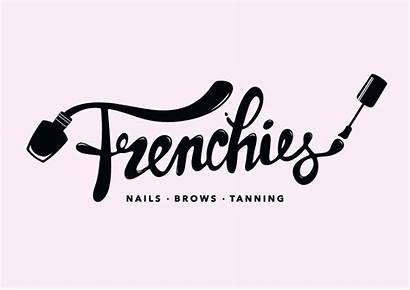 Nail Salon Nails Branding Business Frenchies Logos