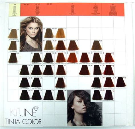 keune tinta color advanced reference hair color dye professional swatch book nw colors dyes