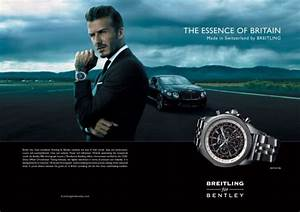 Beckham Takes On Breitling For Bentley Role