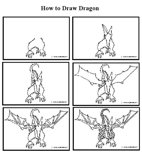 How to Draw Easy Dragons Step by Step