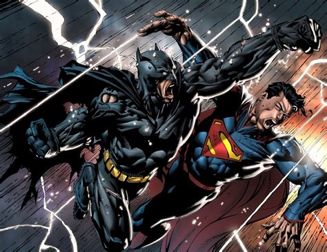 Read Batman Vs. Superman Script From 2002