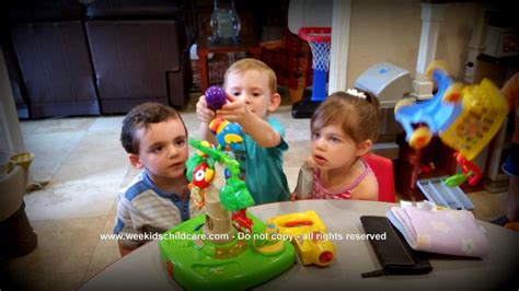 pre school wee day care 271   Kids Playing Inside