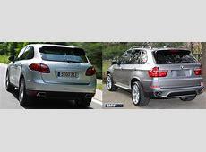2012 BMW X5 35d vs 2013 Porsche Cayenne Diesel