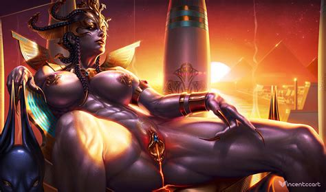 Haughty Goddess Of Egypt By Vincentcc Hentai Foundry