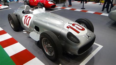 1955 Mercedes Benz W196 Monoposto F1 Champion Juan Manuel