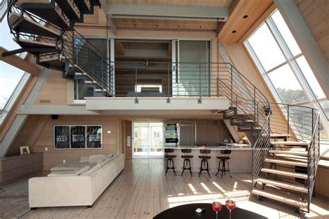 modern a frame house plans modern a frame