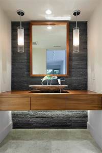 Holz Im Badezimmer : 70 einmalige modelle von waschtisch aus holz ~ Lizthompson.info Haus und Dekorationen