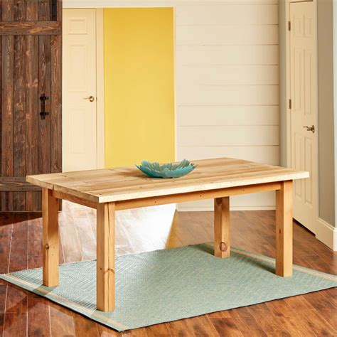 Build A Simple Reclaimed Wood Table  The Family Handyman