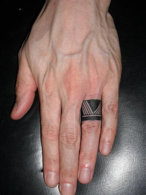awesome tribal finger tattoos  tribal