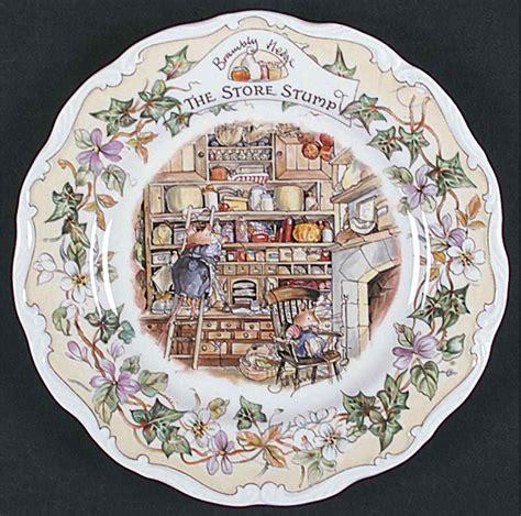 storing plates royal doulton brambly hedge the store stump salad plate 6300835 ebay