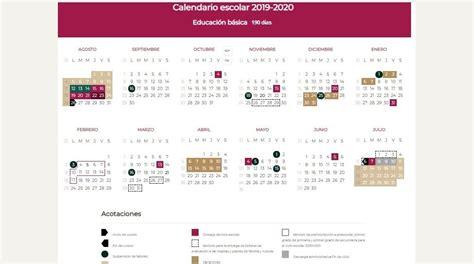 este sera el calendario escolar de dias sinaloa