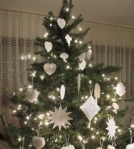 Weihnachtbaumschmuck In Weiss Luzine Happel