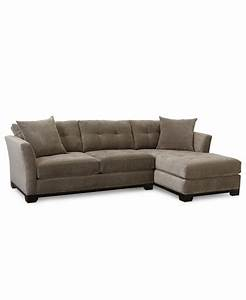 Elliot fabric microfiber 2 pc chaise sectional sofa for Elliot sectional sofa 2 piece chaise