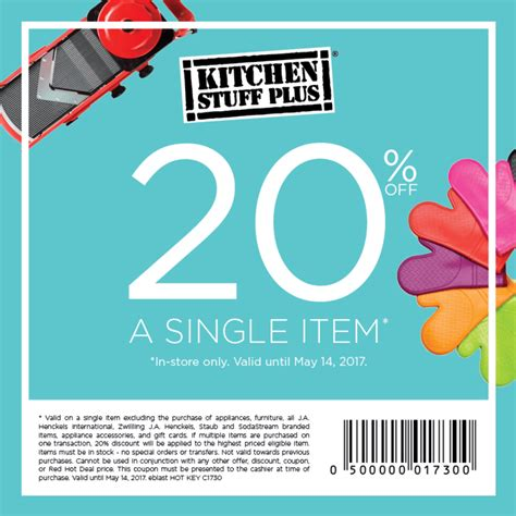 Kitchen On Coupon by Coupon Kitchen October 2018 Discount