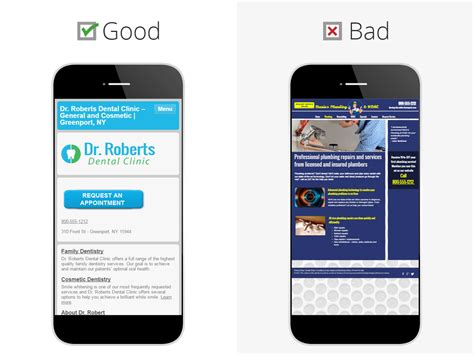 Mobile Website by 5 Seconds To Check Your Mobile Website Design Hibu