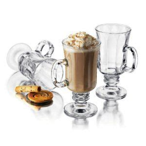 From hot coffee to mug cakes and everything in between, these mugs look great and do it all. Libbey Milan 8 Ounce Irish Coffee Mug in Optic, 4-Piece Set | Irish coffee glasses, Irish coffee ...