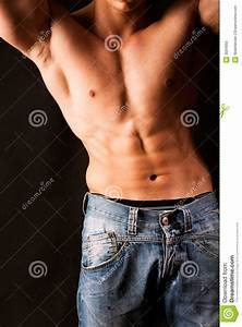Attractive Male Body Stock Image  Image Of Sensuality