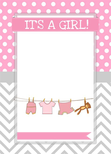 Free Printable Baby Shower Invitations For - baby shower free printables how to nest for less