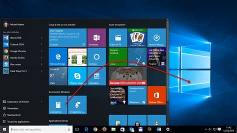 windows 8 1 bureau windows 10 créer un raccourci d 39 une application sur le