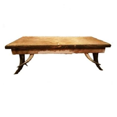 cowhide coffee table 4 state rustic furniture