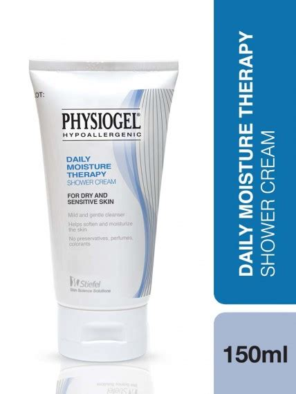 physiogel daily moisture therapy shower cream body