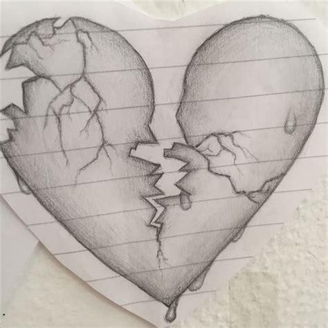 gebrochenes herz gebrochenes herz zeichnungen herz