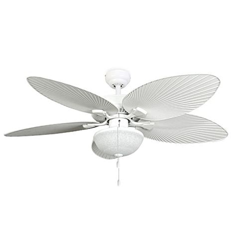 52 inch outdoor ceiling fan 52 inch wisteria outdoor white ceiling fan with light kit