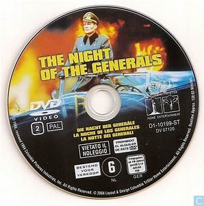The Night Of The Generals - Dvd