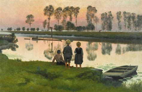 The Boat Matisse by The Passing Boat Emile Claus Y For Yellow Artists