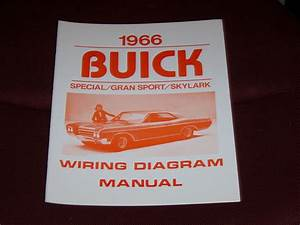1966 Buick Wiring Diagram Manual Gs Skylark Special 66