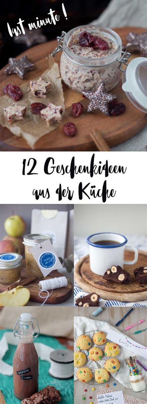 Selbstgemachte Mitbringsel Aus Der Kuche by 12 Last Minute Geschenkideen Aus Der K 252 Che Schnell