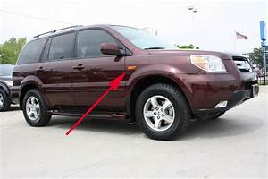 I Have A 2007 Honda Pilot  The Side Marker Lamps Are Out