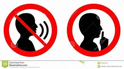 Silent Please Quiet Keep Shhh Talking Icon