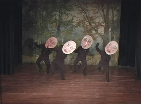 trendy gif giphy dancing weird masks polyvinyl