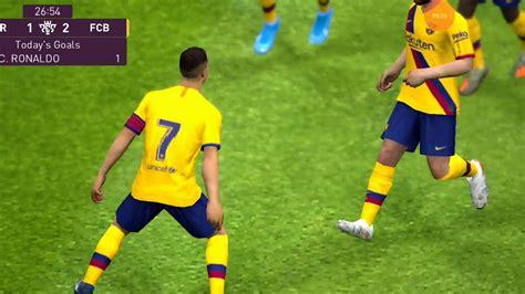 Barcelona vs Atletico Madrid 2-1. 2020 - YouTube