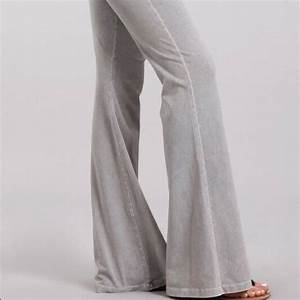 Chatoyant Pants Jumpsuits Bell Bottom Flare Stretch