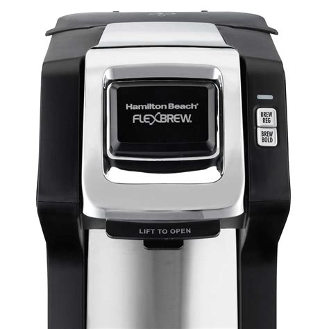 When you are brewing the ground coffee, you might face it if. Hamilton Beach FlexBrew® Single-Serve Plus Coffee Maker, Black & Silver - 49979