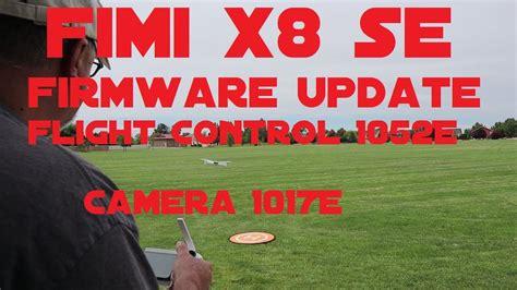 fimi  se firmware update fc  camera  youtube