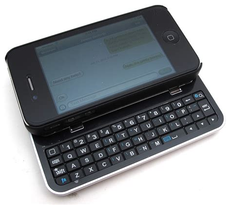 cellmacs iphone 4 4s sliding bluetooth keyboard and