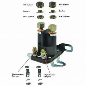 4 Pole Solenoid Fits Many Countax Westwood Lawn Tractor