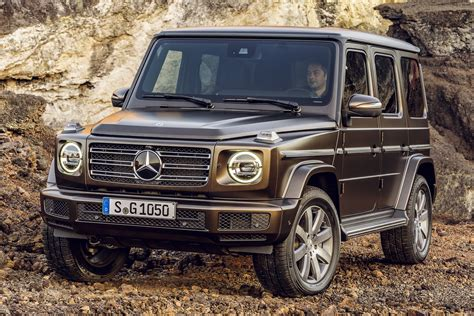 2018 Mercedesbenz Gclass  All New, Inside And Out Image