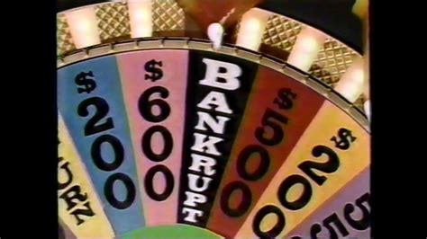 wheel spin fortune bankrupt 1990 discipline burfict final march