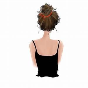 Best Hair Bun Illustrations  Royalty