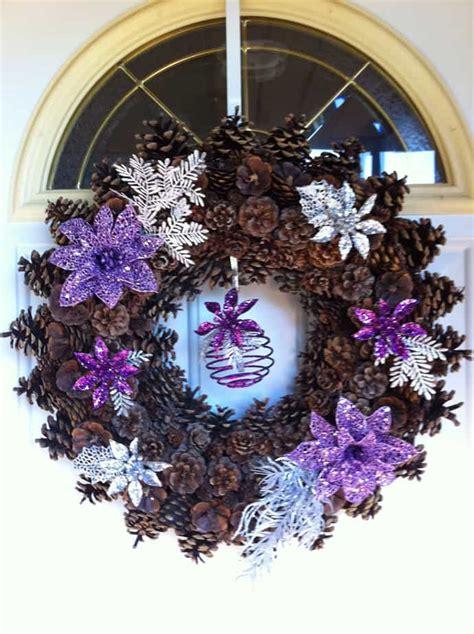 vibrant purple christmas decorations