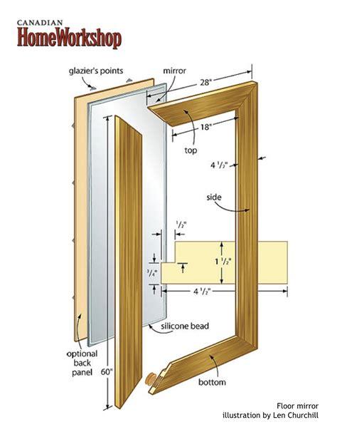 diy floor mirrori    sliding closet door