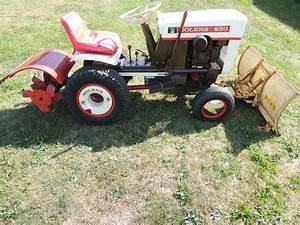 Rare Vintage Bolens 850 Lawn  U0026 Garden Tractor With