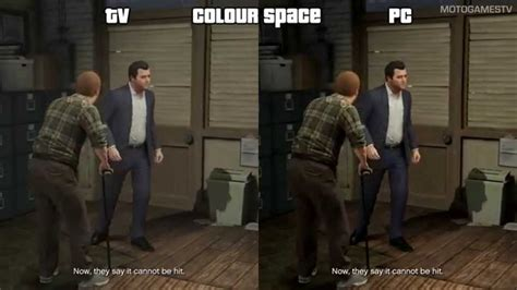 xbox one color space gta v xone tv vs pc xbox one colour space settings