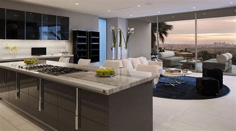 cuisine de luxe moderne the essence of modern living above la luxury mansion in